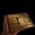 Miniature Carte de plan immobilier en Braille Kinital® Shop.Kinital.com